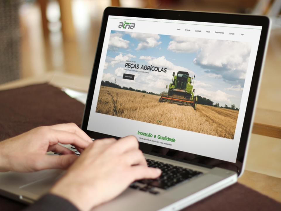 Atria - Website